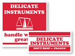 Delicate Instrument Labels