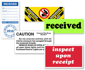 Receiving Labels
