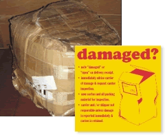 Damaged Shipping Labels
