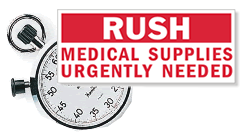 Rush Shipment Labels