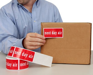Next Day Air Labels