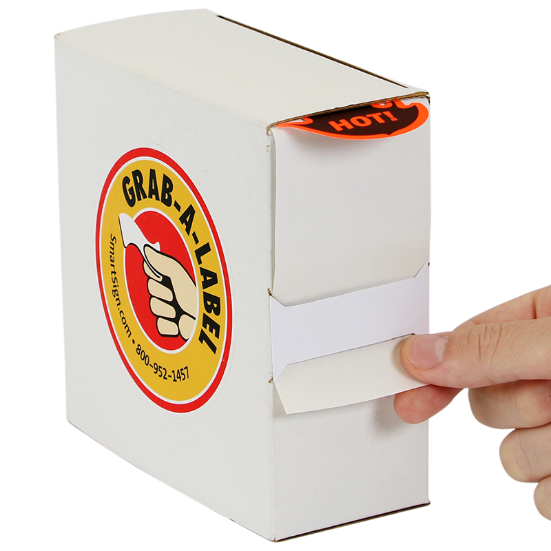 Grab A Label In Dispenser Box: Hot Package Shipping Labels Dispenser