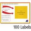 Tilt Indicator Companion Label