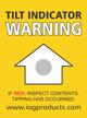 Tilt Indicator Label