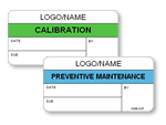 Standard Calibration Labels