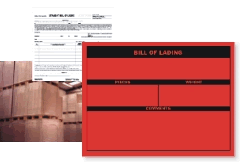 Bill of Lading Labels