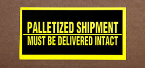 Palletized Shipping Labels