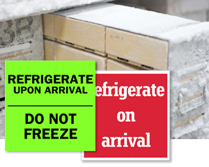 Refrigerate Labels