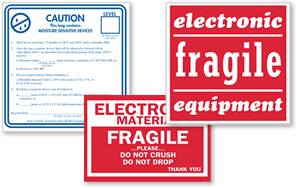 Electronic Equipment Labels