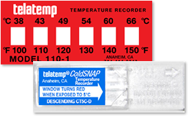 Temperature Monitor Labels