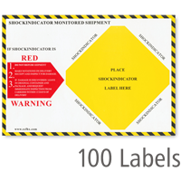 Shock Indicator Companion Label