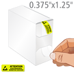 Attention Electrostatic Sensitive Devices Label Dispenser Box