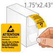 Attention Static Sensitive Devices Labels Dispenser