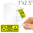 Electrostatic Sensitive Devices Caution Label Dispenser Box