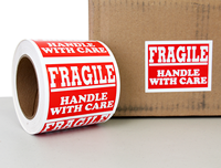 Fragile Handle with Care Labels Roll