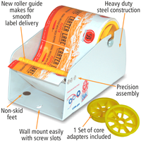 Manual Labels Dispenser 4.5 in.