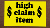 High Claim Item Labels
