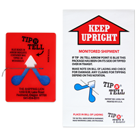 Tip-N-Tell Package Tip Over Indicator Shipping Label