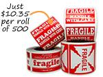 Fragile Stickers